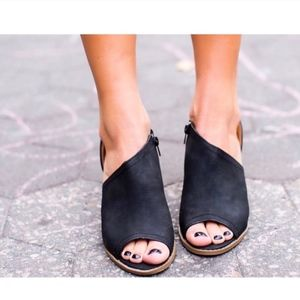 Shoes - JOANNE Booties - BLACK